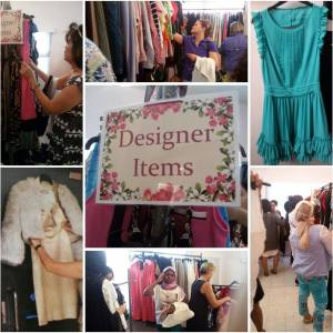 BSPCA Thrift Shop Designer Day sale4