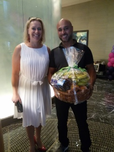 PWS BSPCA Door prize Fishbowl winner