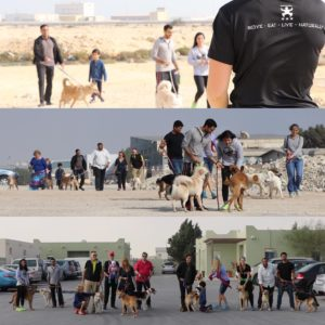 tribal fitness Bahrain BSPCA Walk K9